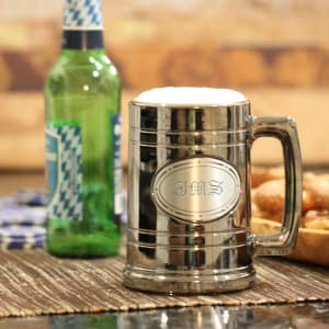 Personalized Gunmetal Tankard