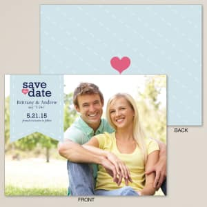 Cherished Romance Save the Date Card