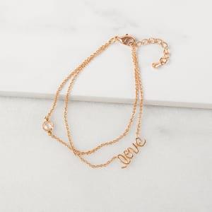 Rose Gold Love Bracelet