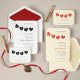 Hung up on Love Wedding Invitation