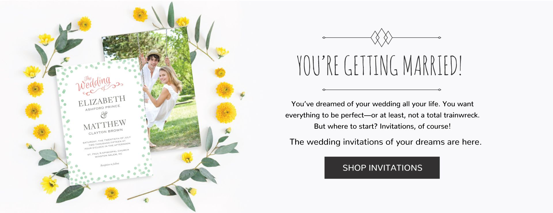 Wedding Invitations | Gifts for Bridesmaids & Groomsmen | Favors