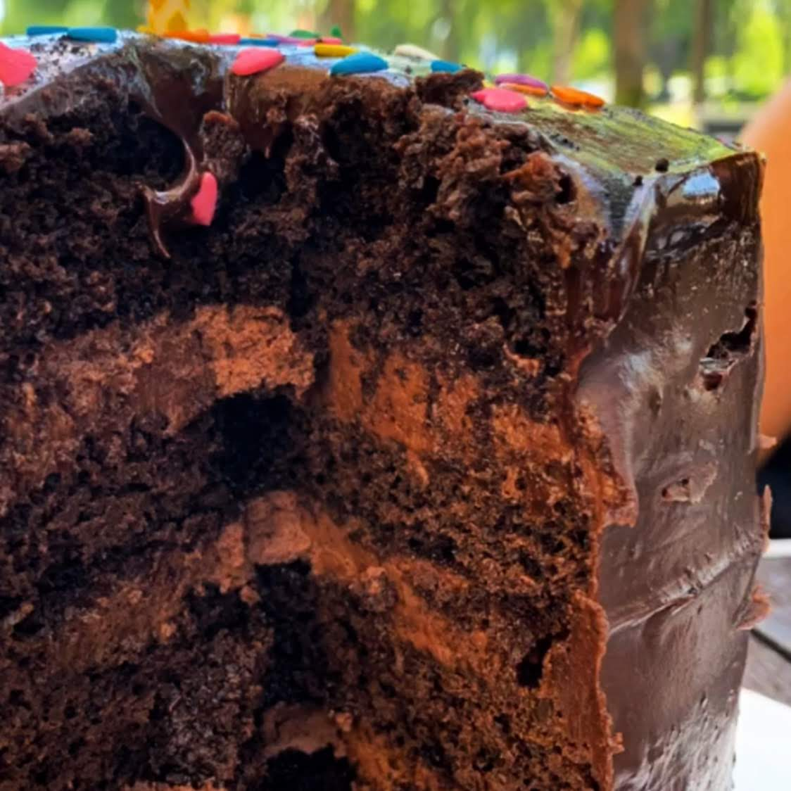 All Hail the Ever Glorious Boozy Chocolate Cake