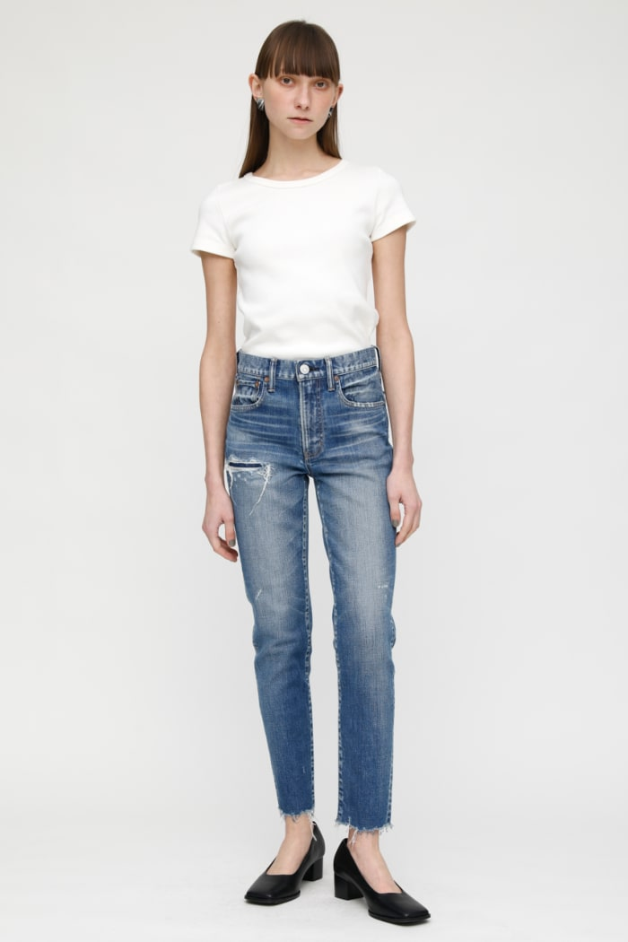 MV HAMMOND HIGH-WAISTED SKINNY JEANS