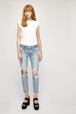 EMBROIDERY LETTER NS TOP
