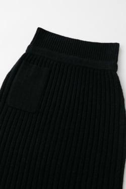 WIDE RIB KNIT Skirt