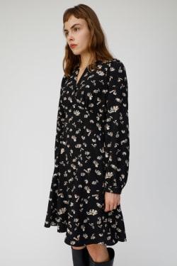 FALL FLOWER MINI dress