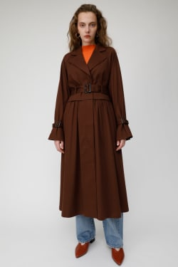 LAYERED STYLE trench coat