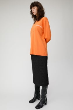 QUILTING LONG skirt