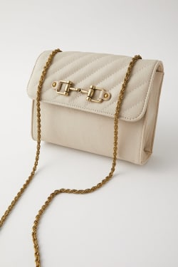 CHAIN MINI POCHETTE BAG