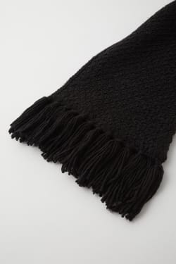 KNIT LONG scarf