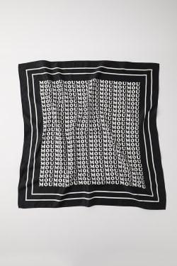 MOUSSY LOGO scarf