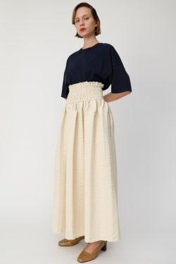 STRIPE SUCKER GATHER Skirt