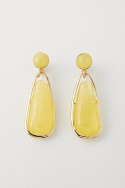 CAGED CLEAR EARRINGS