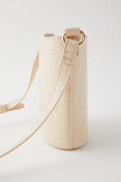 MINIMAL EMBOSS SHOULDER bag