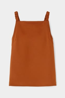 GATHER STRAP camisole