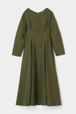 Cocoon sleeve flare dress
