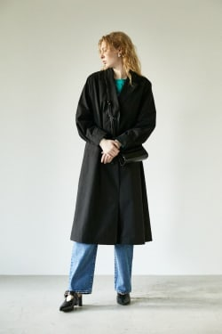 OVER LONG jacket
