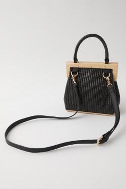 STRAW WOVEN HAND bag