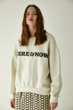 HERE&NOW OVERSIZED SEWAT PULLOVER