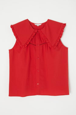 LADDER LACE FRILL blouse