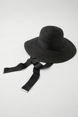 RAFFIA RIBBON hat