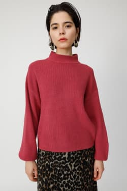 VOLUME SLEEVE COZY knit