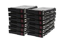 "HP 600GB 10k SAS 2.5"" 6Gbps Hard Drive - 653957-001 *12 Pack*"