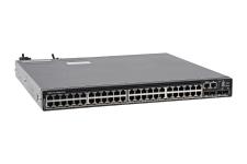 Dell Networking N3248PXE-ON 1/2.5/5/10GbE RJ45 PoE+ + 4 x SFP28 + 2 x QSFP28 Switch w/ 2 x PSU - Ref