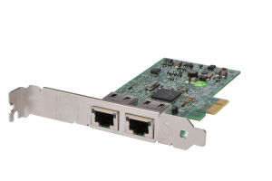 Dell Broadcom 5720 1Gb Dual Port Full Height Network Card - 0FCGN - Ref