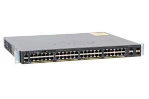Cisco Catalyst WS-C2960X-48FPS-L Switch 48x 1Gb RJ-45 PoE + 4x SFP Ports