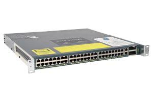 Cisco Catalyst WS-C4948-10GE-S Switch 48x 1Gb RJ-45 w/ Enterprise services