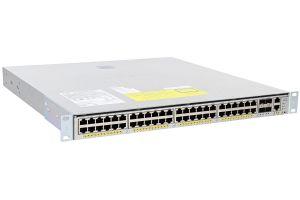 Cisco Catalyst WS-C4948E-F-E Switch w/ Enterprise Licence & 2x PSU