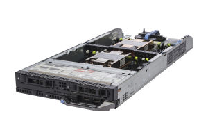 "Dell PowerEdge FC630 1x2 2.5"" SATA, 2 x E5-2640 v3 2.6GHz Eight-Core, 64GB, PERC S130, iDRAC8 Enterprise"