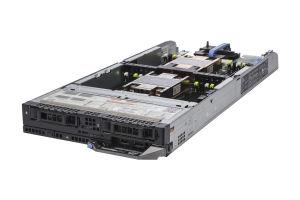 "Dell PowerEdge FC630 1x2 2.5"" SATA, 2 x E5-2682 v4 2.5GHz Sixteen-Core, 128GB, PERC S130, iDRAC8 Enterprise"