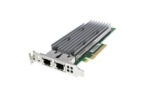 Dell QLogic QL41132HLRJ 10Gb RJ45 Dual Port Low Profile - 3N76N - Ref