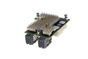 Dell QLogic QL41262HMKR 25Gb/10Gb Dual Port CNA Mezzanine Card - 51G0W - Ref