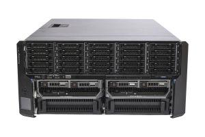 Dell PowerEdge VRTX 1x25 - 2 x M620, 2 x E5-2670, 64GB, 2 x 300GB SAS 15k, PERC H710P, iDRAC7 Enterprise