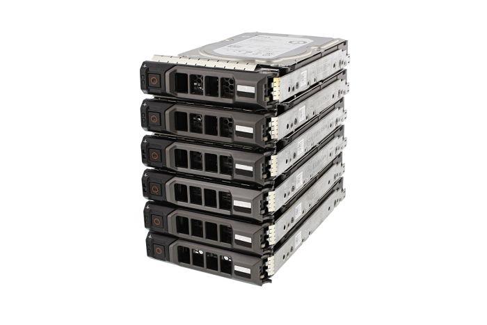 "Dell 6TB SAS 7.2k 3.5"" 12G 4Kn Hard Drives **6 Pack**"