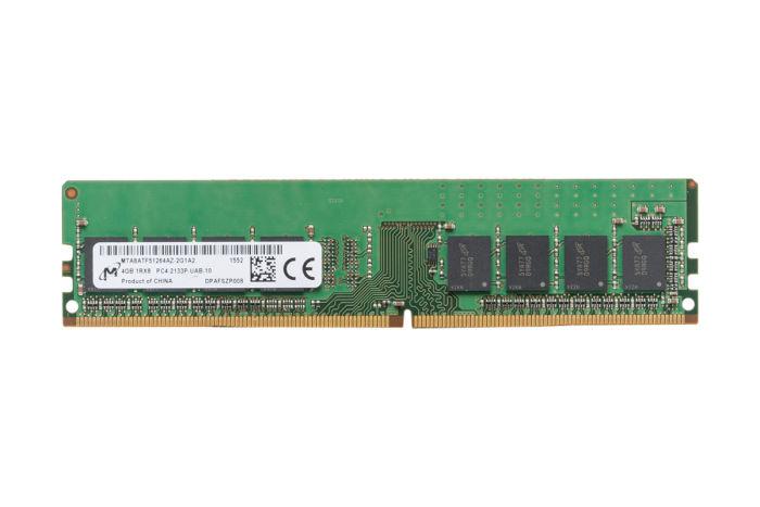 Micron 4GB PC4-2133P-U 1Rx8 MTA8ATF51264AZ-2G1 Ref