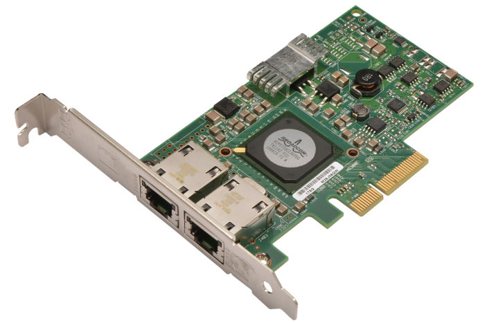 Dell Broadcom 5709 1Gb Dual Port Full Height Network Card - F169G - Ref