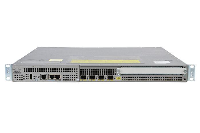 Cisco ASR1001 Router 4 x 1Gb SFP with Advanced Enterprise License