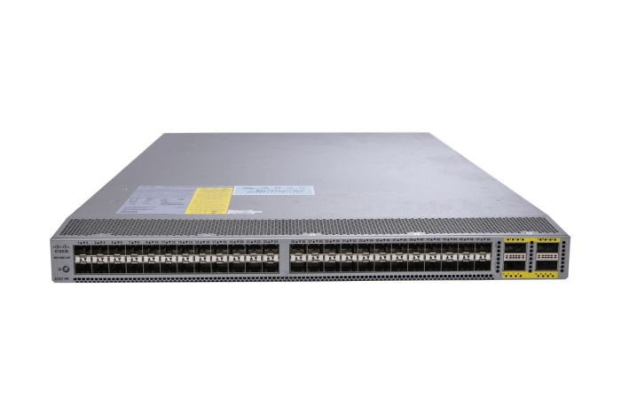 Cisco Nexus N6K-C6001-64P Switch LAN Enterprise License, Port-Side Air Exhaust