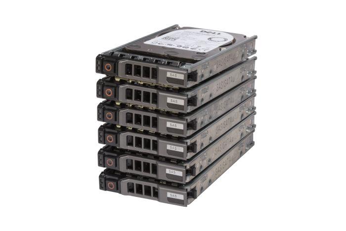 """Dell 2TB SAS 2.5"""" 12G Hard Drives **6 Pack**"""