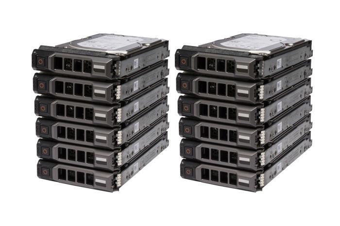 """**12 Pack** Dell 2TB SATA 3.5"""" 6G Hard Drives"""