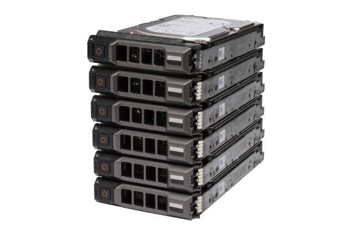 """**6 Pack** Dell 2TB SATA 3.5"""" 12G Hard Drives"""