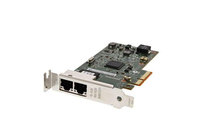 Dell Intel i350 1Gb Dual Port Low Profile Network Card - YG4N3 - Ref