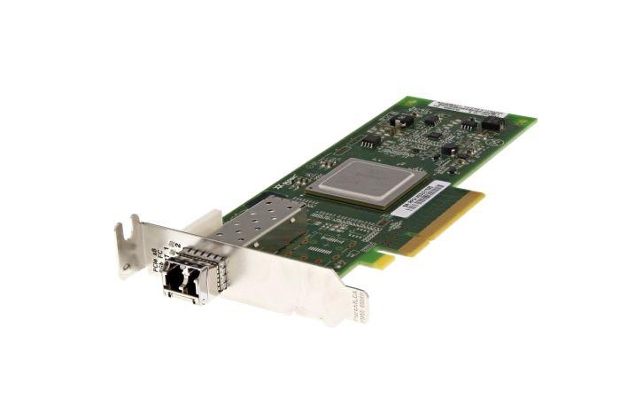 Dell QLogic QLE2560L-DEL 8Gb SFP+ Single Port Low Profile Fibre HBA - 5VR2M - Ref