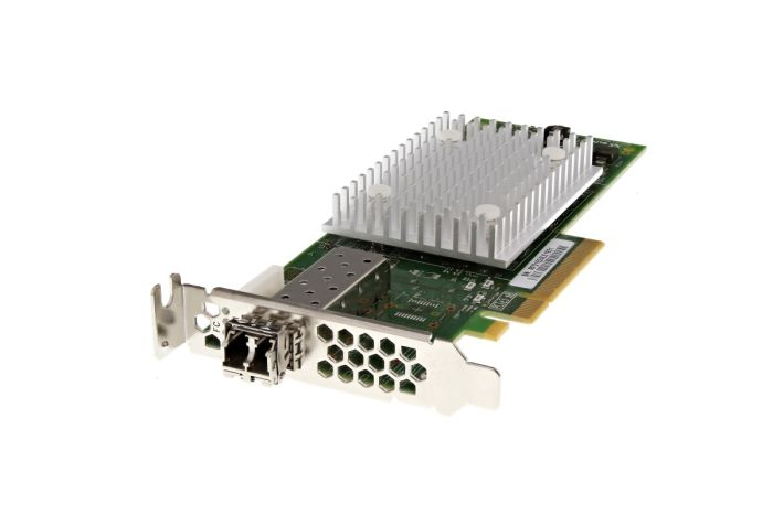 Dell QLogic QLE2740L-DEL 32Gb FC SFP+ Single Port Low Profile HBA - RHD9H - Ref