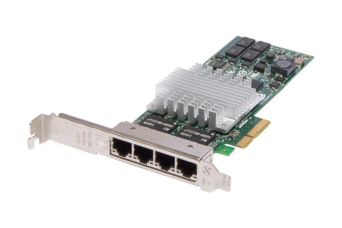 HP NC364T 1Gb Quad Port Full Height Network Card - 436431-001 - Ref
