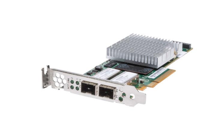 HP NC523SFP 10Gb Dual Port Low Profile Network Card - 593717-001 - Ref
